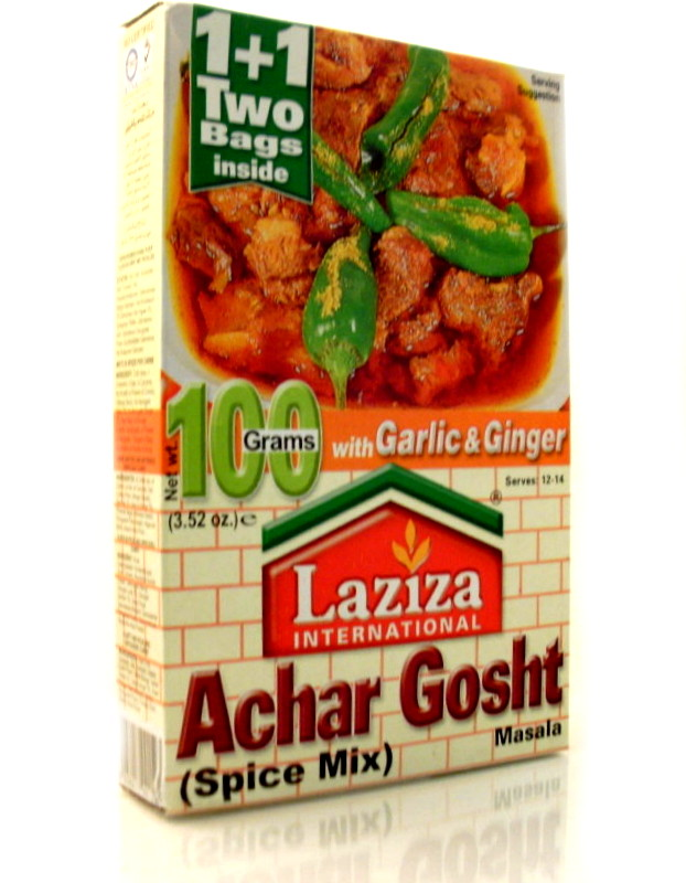 gosht 100g product description laziza achar gosht 100g indian spices ...