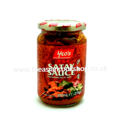 Satay Sauce | Buy Online at the Asian Cookshop