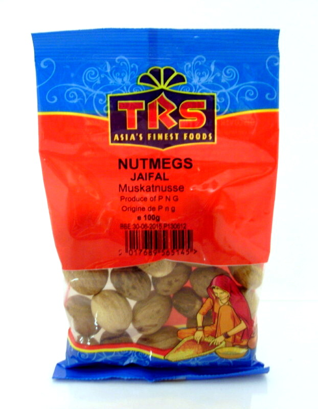 Whole Nutmegs Buy Online At The Asian Cookshop
