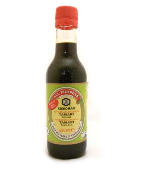 Kikkoman all purpose tamari soy sauce gluten free buy for Is fish sauce gluten free