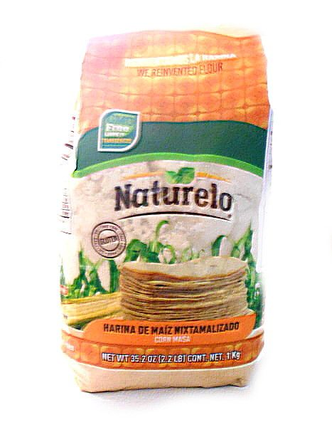 Mexican Masa Harina Ground White Corn Flour By Naturelo Buy Online At The Asian Cookshop